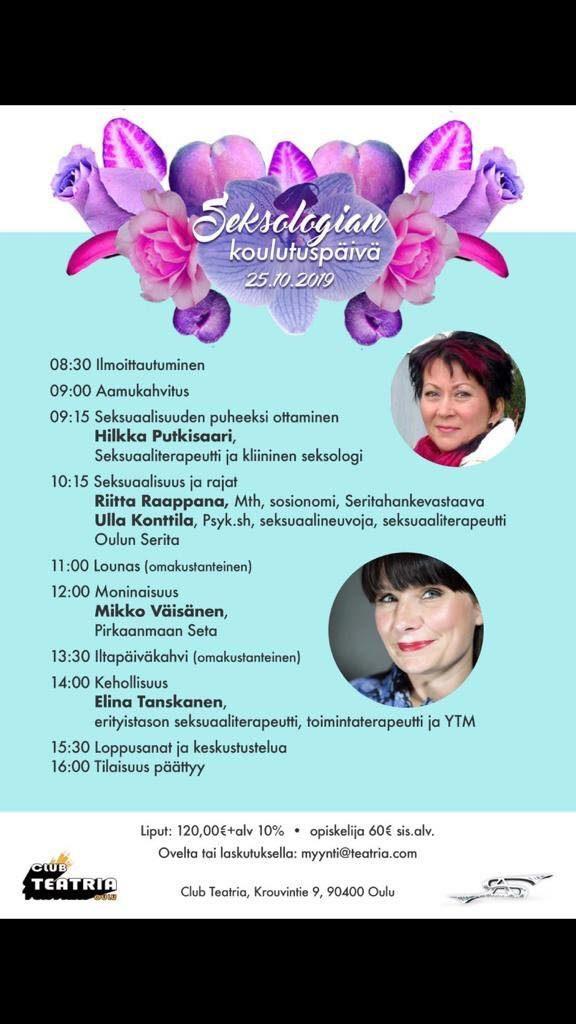 Seksuaaliterapeutti Oulu